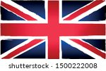 grunge uk flag.vintage union... | Shutterstock .eps vector #1500222008