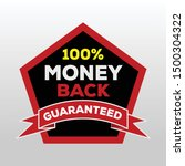 sale quality badges. round... | Shutterstock .eps vector #1500304322