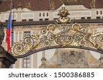 Entrance To Prague Castle  ...