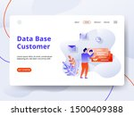 landing page data base customer ...
