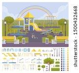 playground creation set ... | Shutterstock .eps vector #1500432668