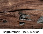 the defferent vintage wooden...   Shutterstock . vector #1500436805