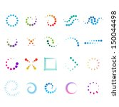 design elements set   isolated... | Shutterstock .eps vector #150044498