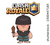 rascal clash royale game... | Shutterstock .eps vector #1500447185