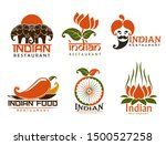 Indian Restaurant Isolated...