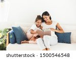 image of attractive family... | Shutterstock . vector #1500546548