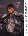 Small photo of NEW YORK, NEW YORK - SEPTEMBER 05: Smokepurpp attends ELLE, Women in Music presented by Spotify and hosted by Nina Garcia, Jameela Jamil & E! Entertainment on September 05, 2019 in New York City.
