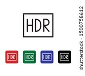 hdr icon   vector diferent...
