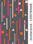 digital printing textile... | Shutterstock . vector #1500783668