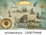 pirate map | Shutterstock . vector #150079448