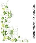 colorful and filigree flowers... | Shutterstock .eps vector #150089036
