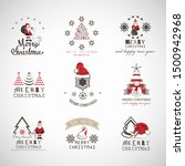 christmas icons and elements...