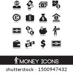 collection of finance and money ... | Shutterstock .eps vector #1500947432