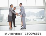 business people meeting in... | Shutterstock . vector #150096896