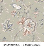 decorative flowers floral... | Shutterstock . vector #1500983528
