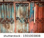 architecture old vintage steel... | Shutterstock . vector #1501003808