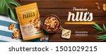 Premium Nuts Banner Ads On...