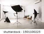 professional photo studio... | Shutterstock . vector #1501100225