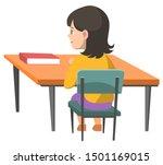 education vector  isolated kid...