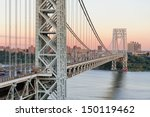 george washington bridge at... | Shutterstock . vector #150119462