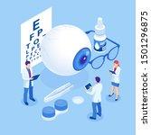 isometric medical...   Shutterstock .eps vector #1501296875