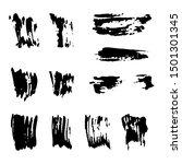 Set Of Vector Grunge Stripes...