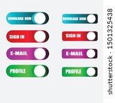 material design button. modern...