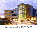 an office building with a empty ... | Shutterstock . vector #15013609