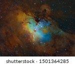 Famous Eagle Nebula With...