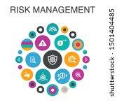 risk management infographic... | Shutterstock .eps vector #1501404485
