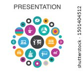 presentation infographic circle ...