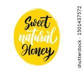 vector illustration of a 'sweet ... | Shutterstock .eps vector #1501437572