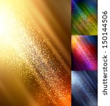 realistic autumn bokeh lights   ... | Shutterstock .eps vector #150144506