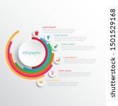 vector infographic templates... | Shutterstock .eps vector #1501529168