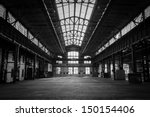 abandoned old industrial... | Shutterstock . vector #150154406
