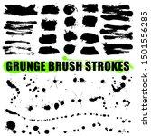 brush strokes collection. set...   Shutterstock .eps vector #1501556285
