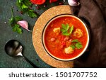 Tomato Soup With Meatballs And...
