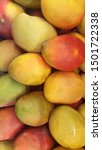 Small photo of Mangoes are juicy stone fruit (drupe) from numerous species of tropical trees belonging to the flowering plant genus Mangifera, cultivated mostly for their edible fruit.