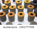 Small photo of Refractory bricks.refractory materials for the steel and alloy industry.