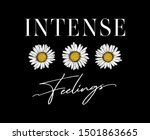 intense feelings daisy print...   Shutterstock .eps vector #1501863665