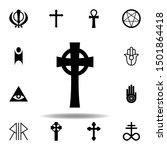 religion symbol  celtic cross...