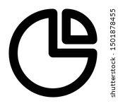 pie diagram icon. element of...