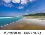 Tropical Beach Almejal At The...
