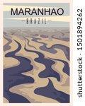 Maranhao Retro Poster. Maranhao ...