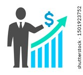 business presentation growth... | Shutterstock .eps vector #1501923752