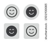 Smile Icon In The Circle And...