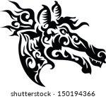 tattoo wild horse.   Shutterstock .eps vector #150194366