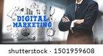 asian businessman on blurred... | Shutterstock . vector #1501959608