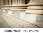 pillars and steps | Shutterstock . vector #150198392