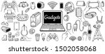 big collection of gadgets... | Shutterstock .eps vector #1502058068